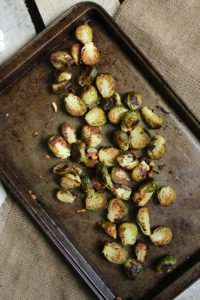 Oven Roasted Brussels Sprouts – The Fitchen
