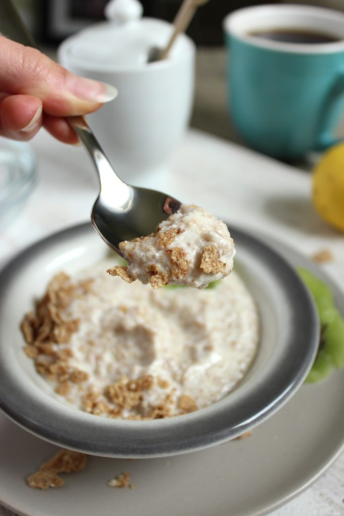 Magical Breakfast Cream on Spoon Coffee Cup