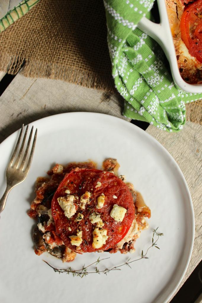 Skinny Eggplant Parmesan – The Fitchen
