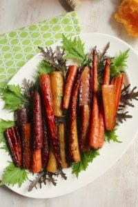 Honey Orange Roasted Carrots – The Fitchen