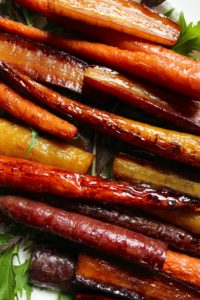 Honey Orange Roasted Carrots – The Fitchen