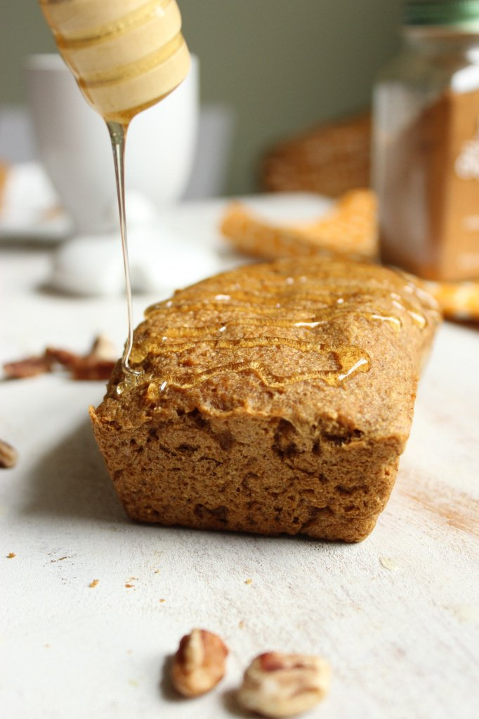 Gluten Free Vegan Pumpkin Bread – The Fitchen
