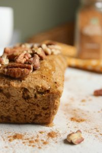 Gluten Free Vegan Pumpkin Bread – The Fitchen