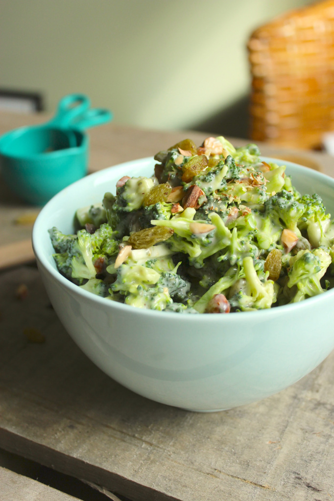 Easy Vegan Broccoli Salad – The Fitchen