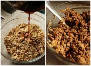 Easy Maple Cranberry Granola – The Fitchen