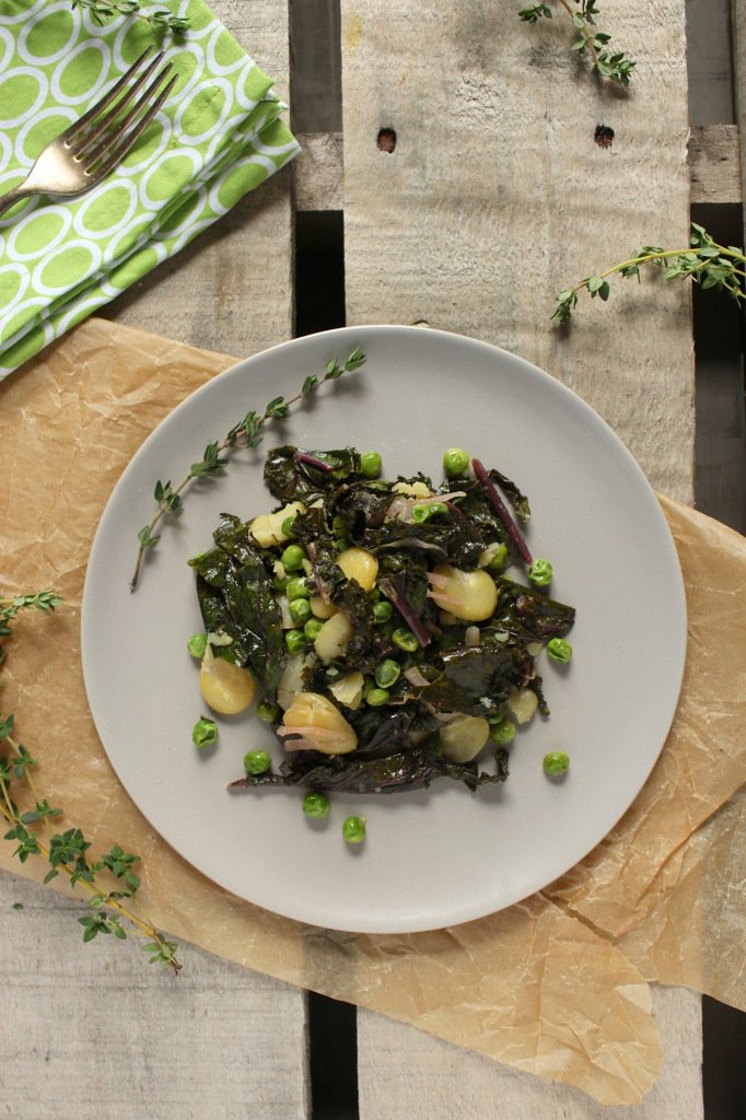 Sautéed Fava Bean Salad – The Fitchen