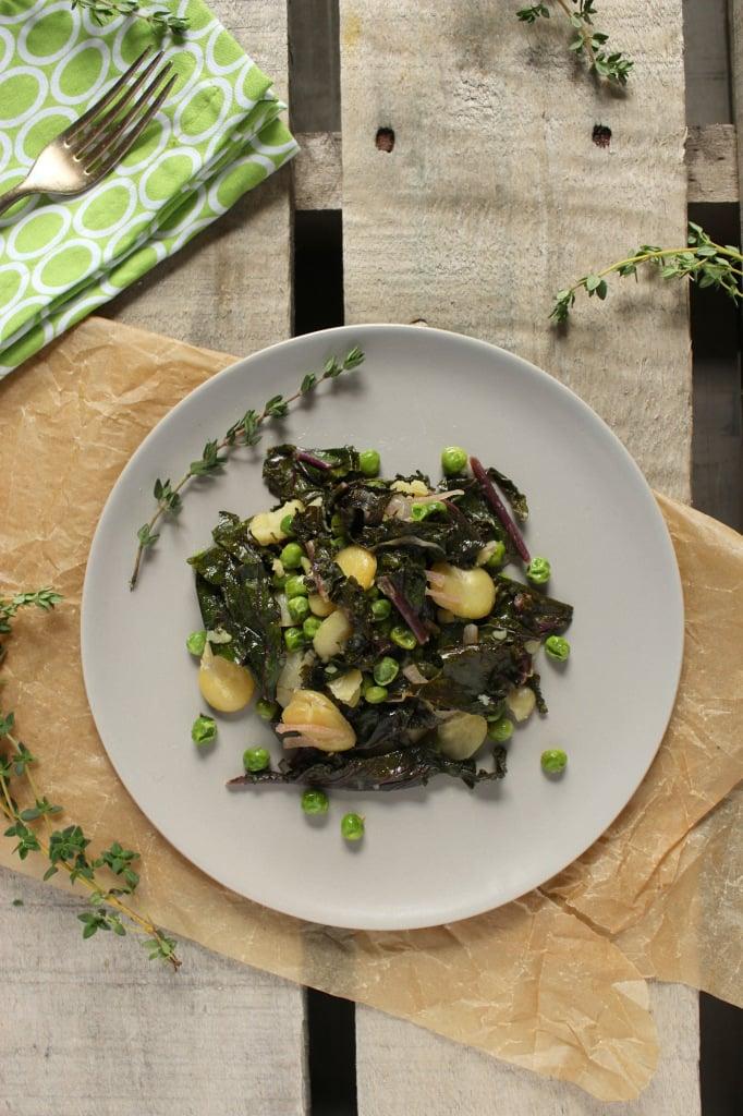 Sautéed Fava Bean Salad – The Fitchen