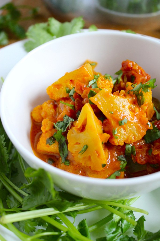 Easy Vegan Cauliflower Curry – The Fitchen
