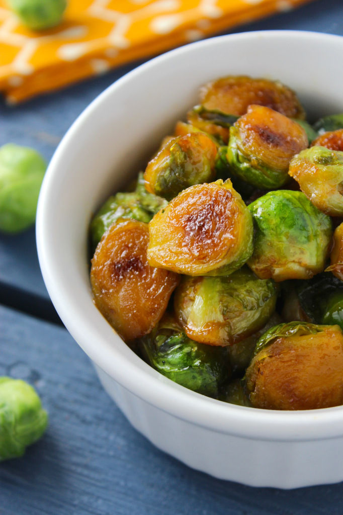 Sweet and Spicy Sriracha Brussels Sprouts – The Fitchen