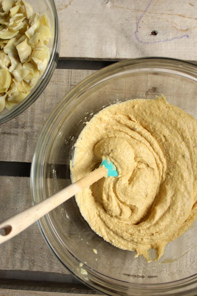 Spinach Artichoke Hummus – The Fitchen