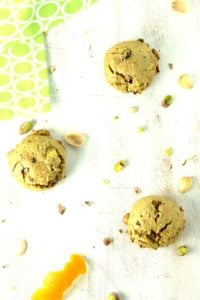 Gluten-Free Vegan Pistachio Orange Cookies – The Fitchen
