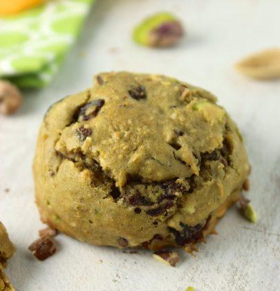 Gluten-Free Pistachio Orange Cookies