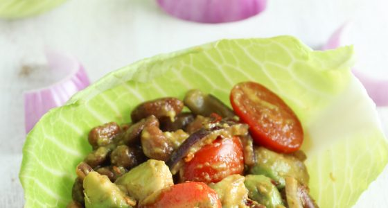 10 Minute Healthy Cabbage Bowls
