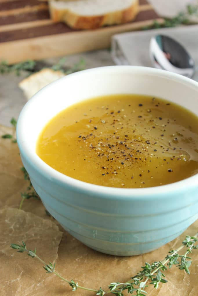 Slow Cooker Butternut Squash Soup – The Fitchen