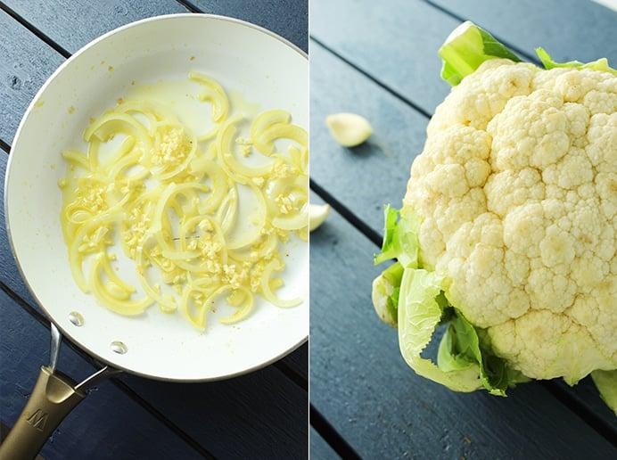 Cauliflower and Potato