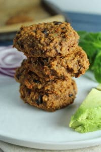 Easy Sweet Potato Cakes with Quinoa and Black Beans – The Fitchen