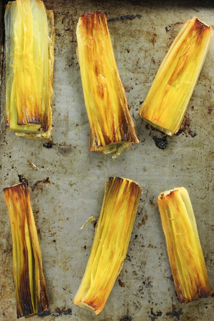 Simple Slow Roasted Leeks – The Fitchen