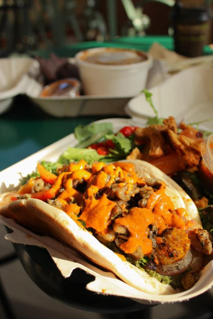 Three Carrots Indy Vegan Food