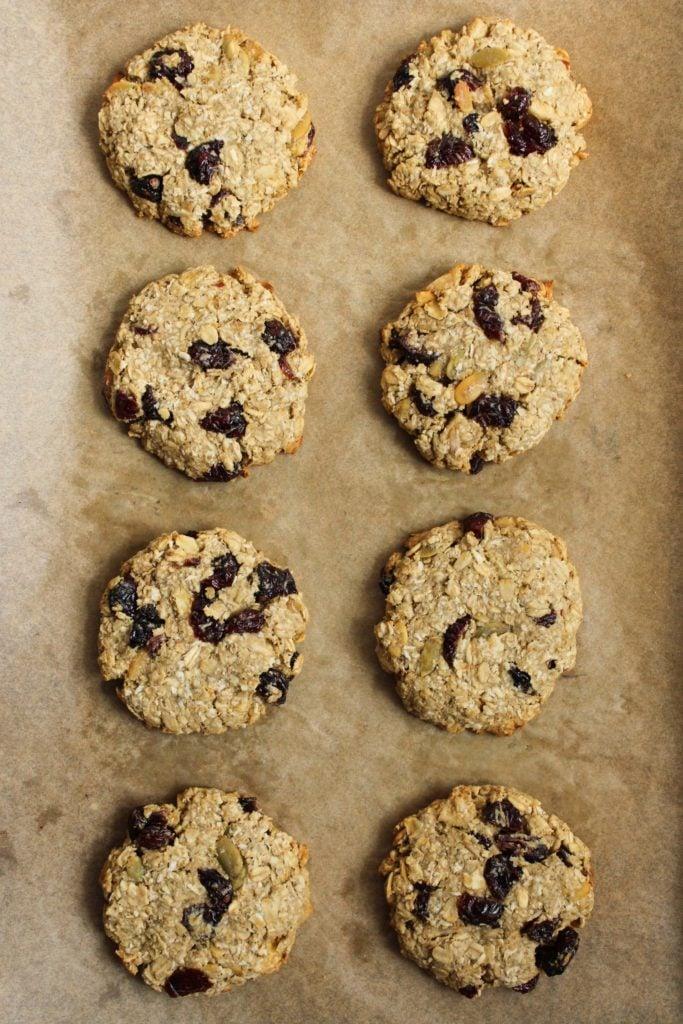 8 One Bowl Vegan Breakfast Cookies