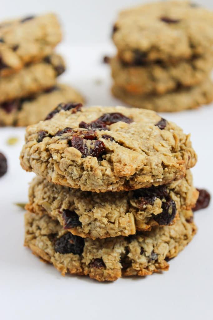 9 One Bowl Vegan Breakfast Cookies