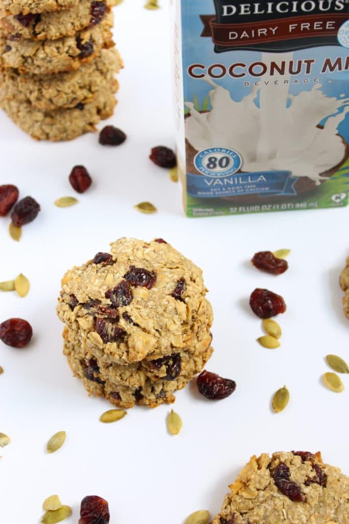 One Bowl Vegan Breakfast Cookies Coconut Milk