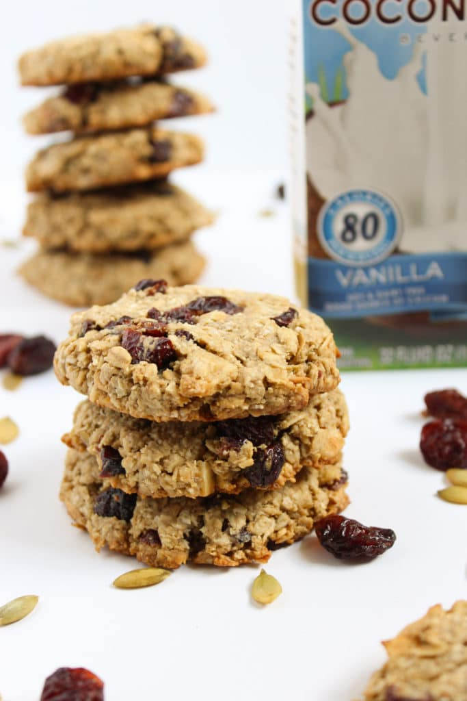 8 One Bowl Vegan Breakfast Cookies Coconut Milk