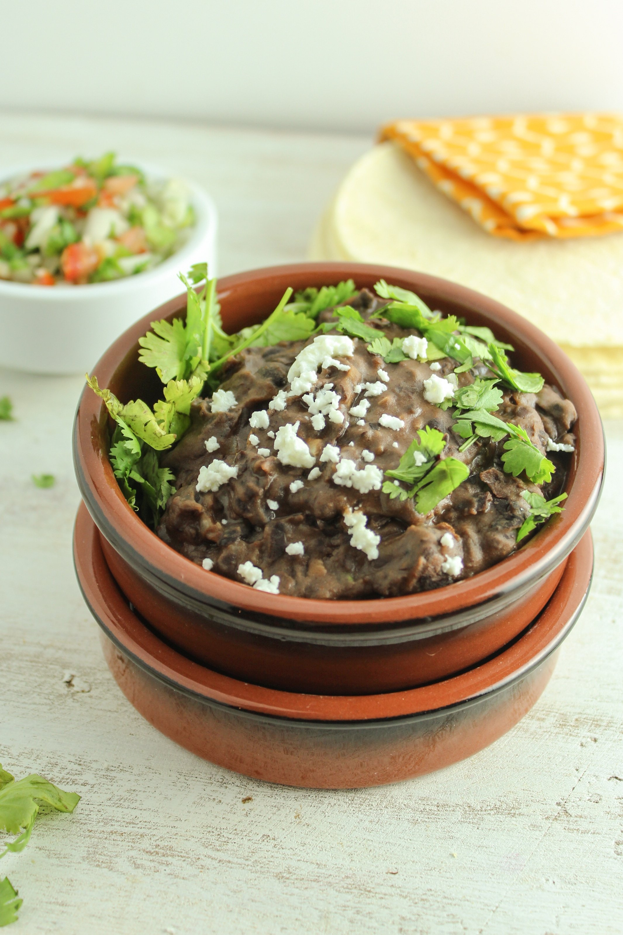Best Ever Vegetarian Refried Black Beans From The Fitchen