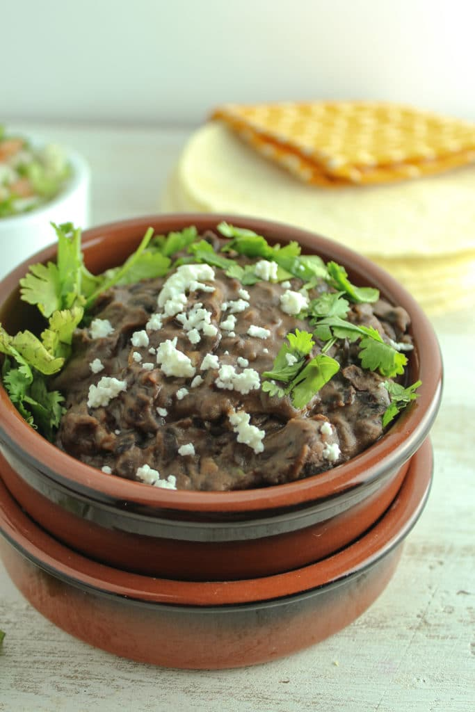 The Best Ever Refried Black Beans