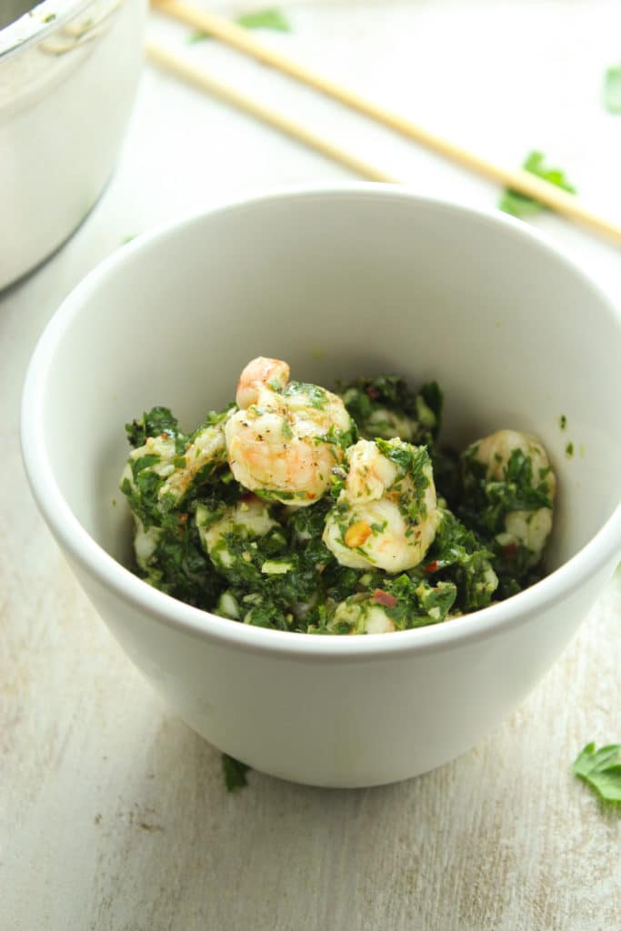 Chimichurri Shrimp – The Fitchen