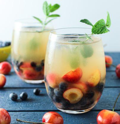 Cherry White Wine Sangria