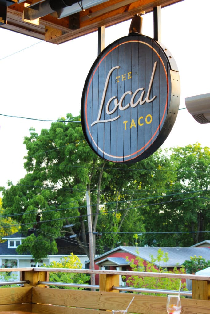 The Local Taco Sign