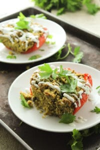 Falafel Stuffed Peppers – The Fitchen
