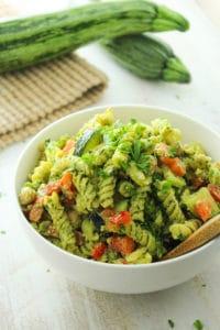 20-Minute Pesto Pasta Salad