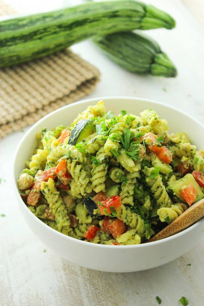 20-Minute Pesto Pasta Salad