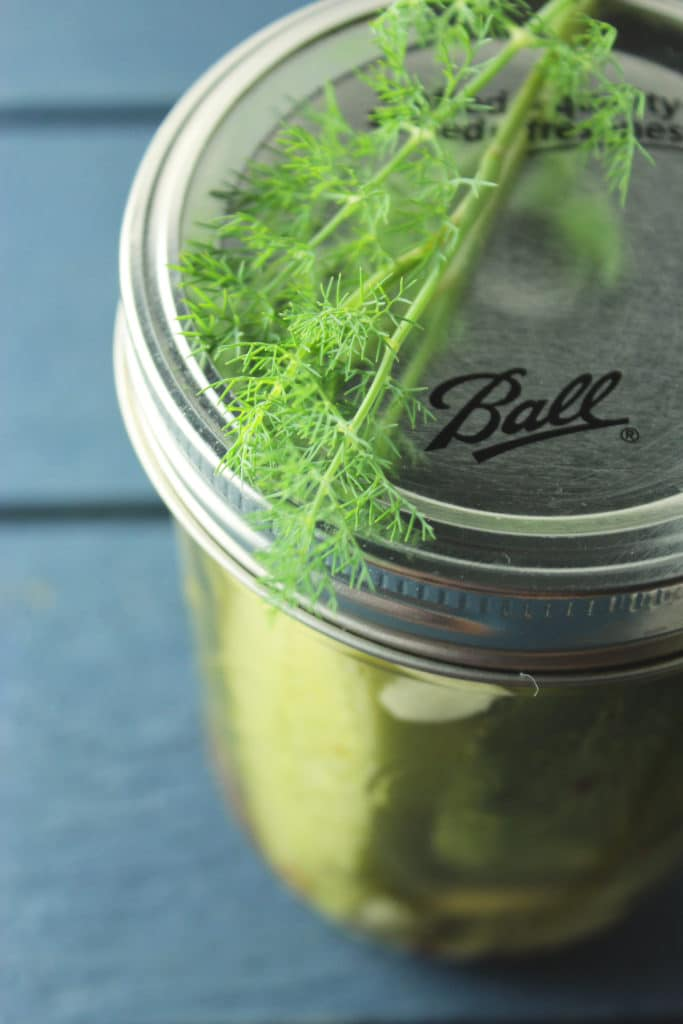 Dill Pickles Jar