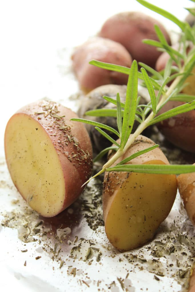 Herbed Grilled Potatoes with Rosemary