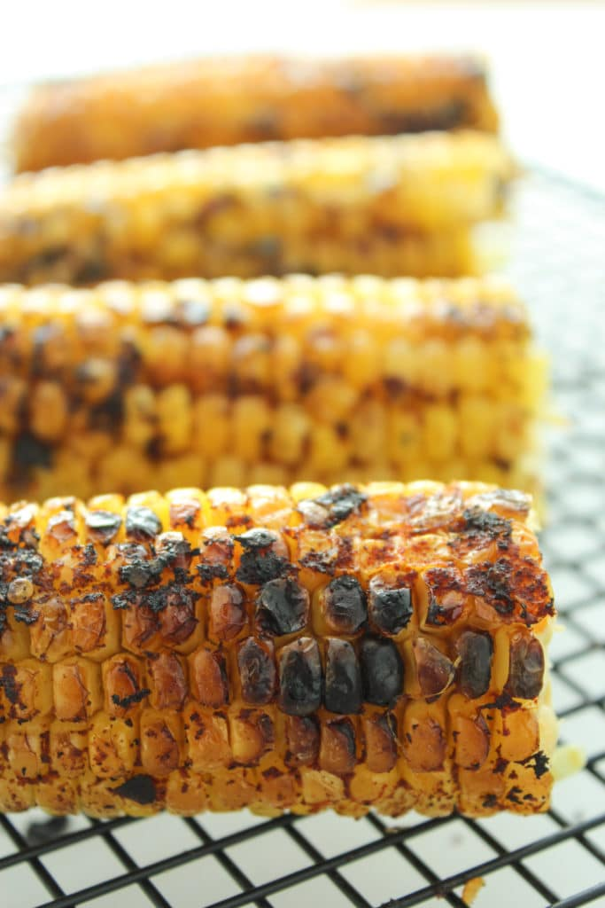Easy Grilled Sweet Corn