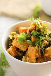 Dijon Sweet Potato Salad