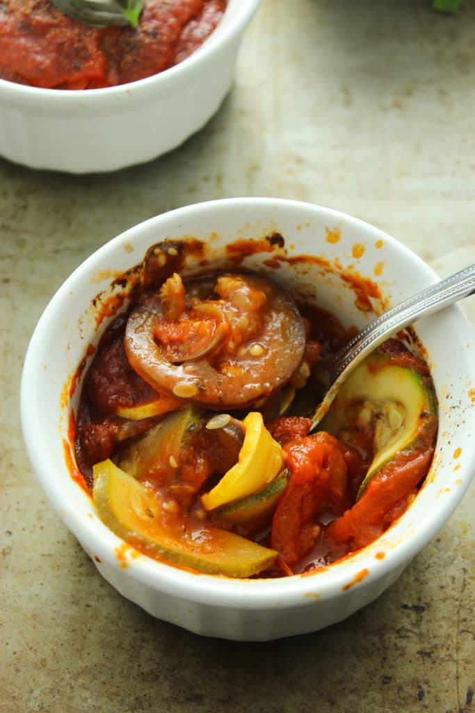 5 Ingredient Ratatouille – The Fitchen