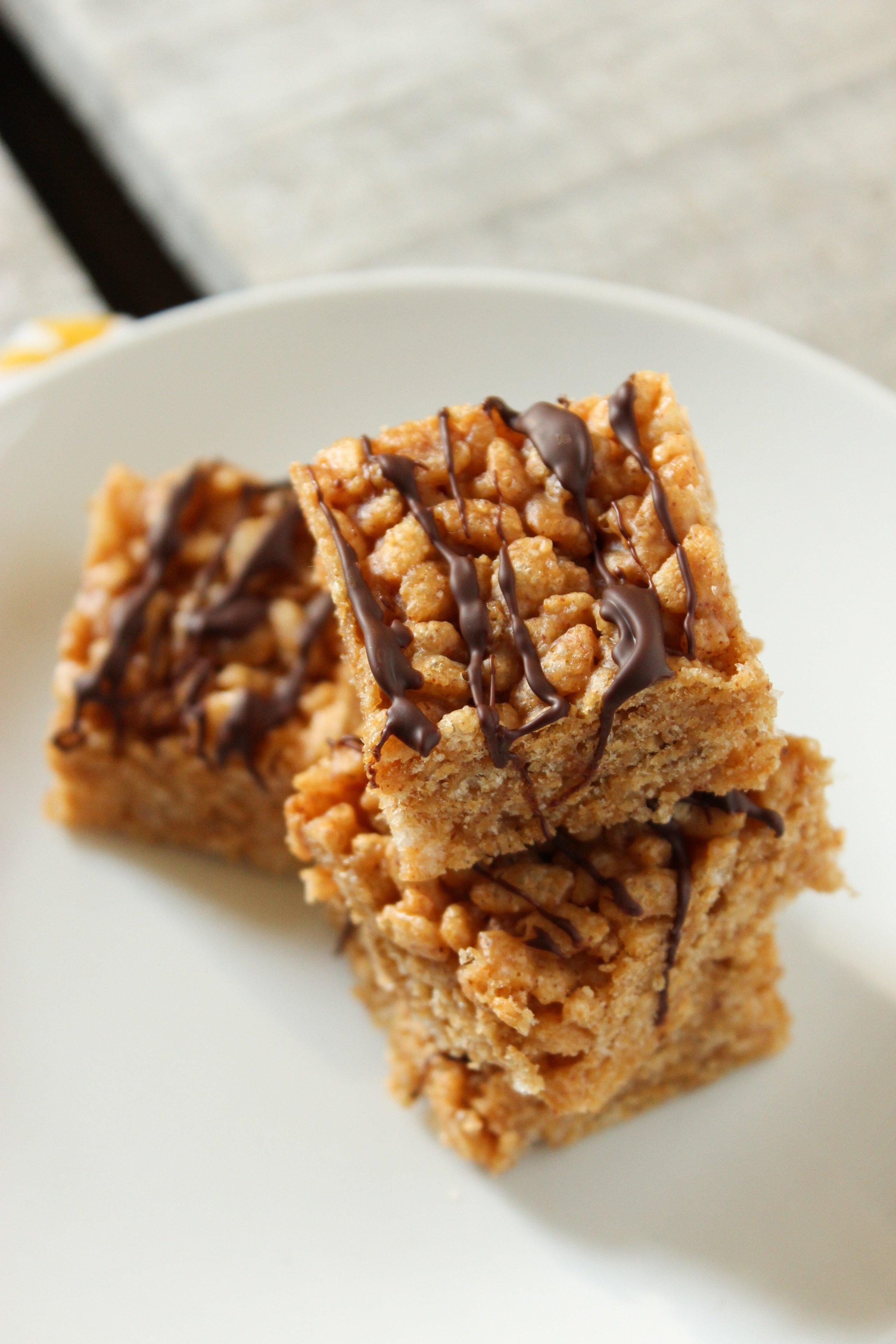 Peanut Butter Rice Krispie Treats 1