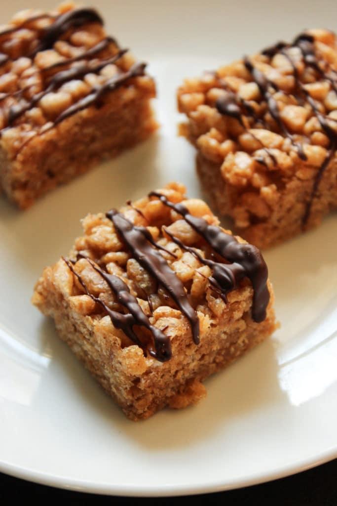 3 Peanut Butter Rice Krispie Treats