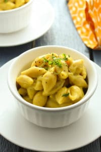 Vegan Shells and Cheese