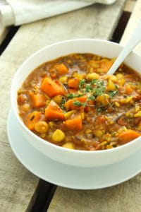 Crockpot Curried Sweet Potato Chili-12
