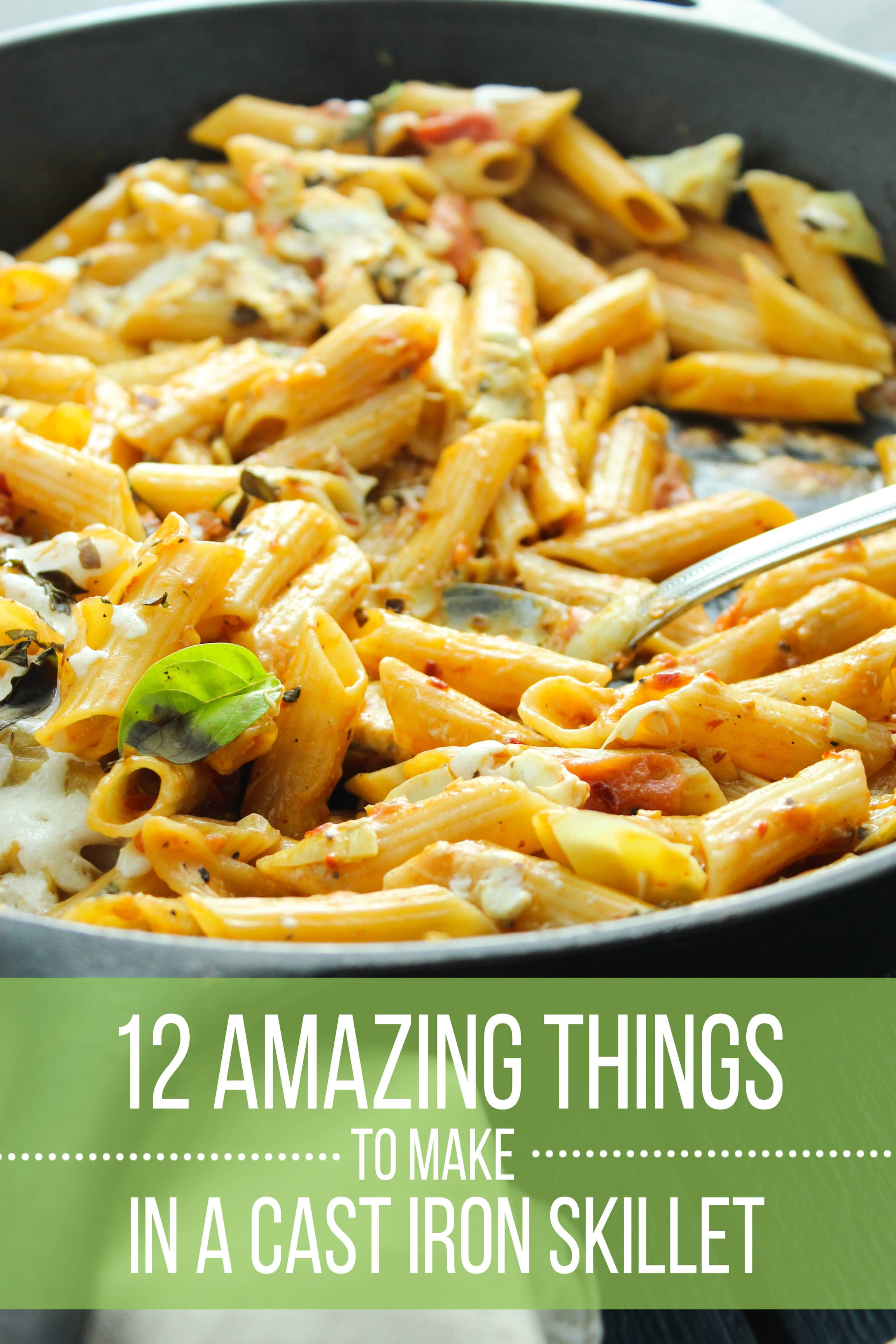 12 Amazing Things You Can Make In A Cast Iron Skillet