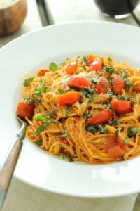 Easy One Pot Pasta Diavolo for Date Night