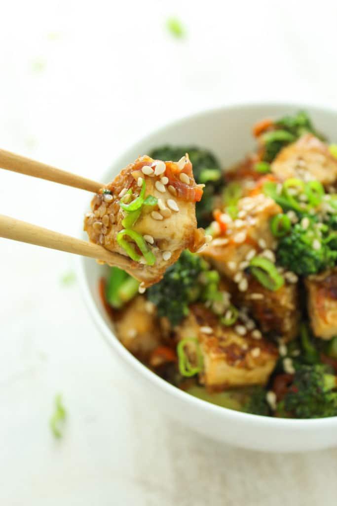 Sticky Sesame Tofu and Broccoli-92