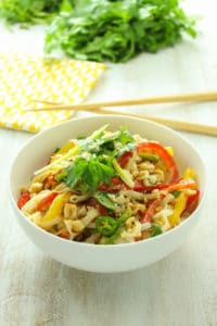 15-Minute Thai Rice Noodle Salad