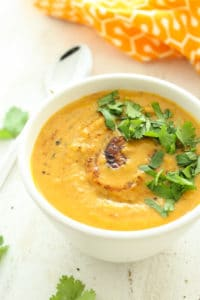 One Pot Sweet Potato Soup