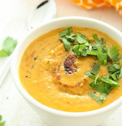 One Pot Sweet Potato Soup