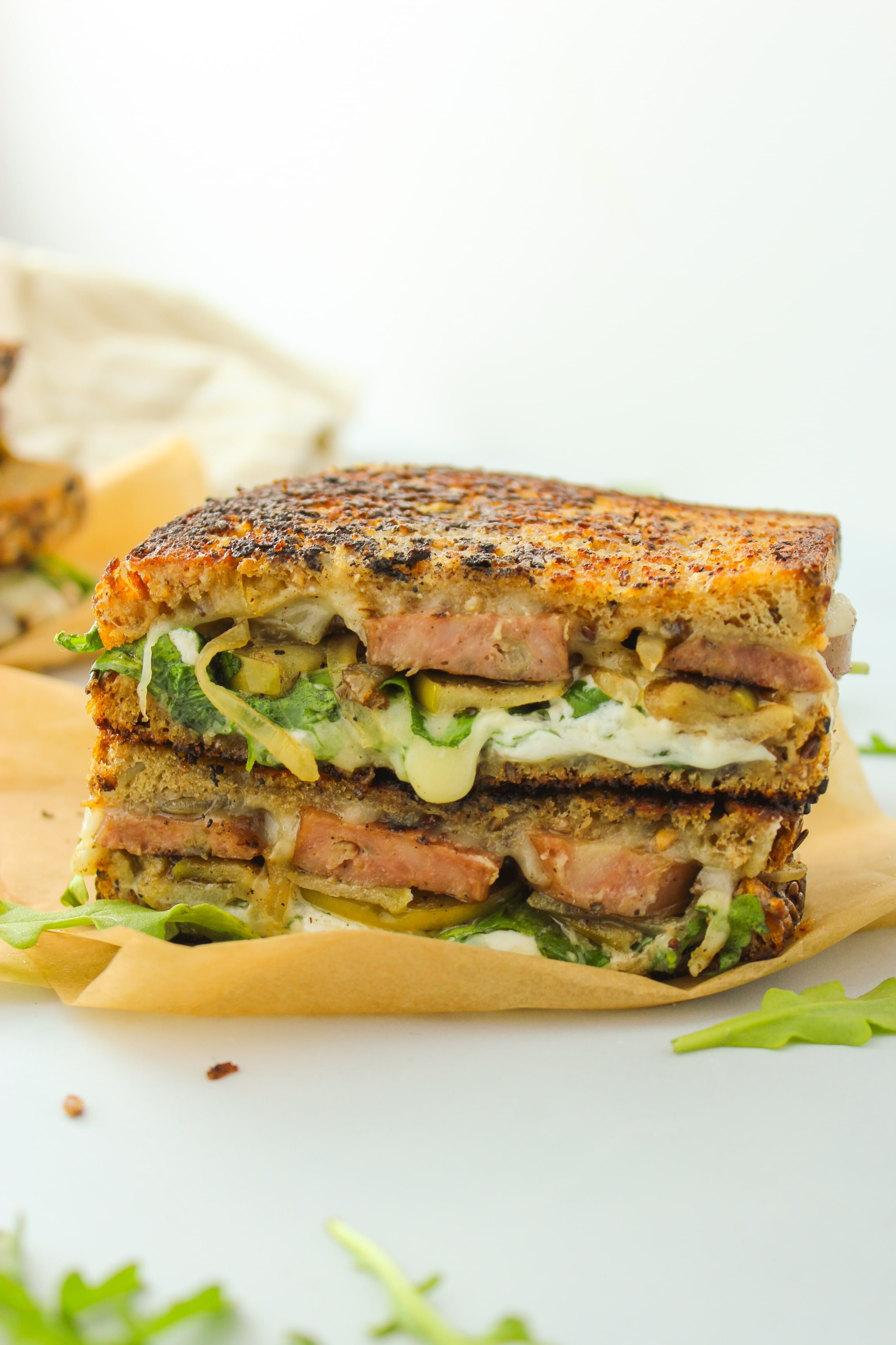 Chicken and Apple Sausage Breakfast Melts